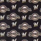 MLB Milwaukee Brewers Cotton Fabric